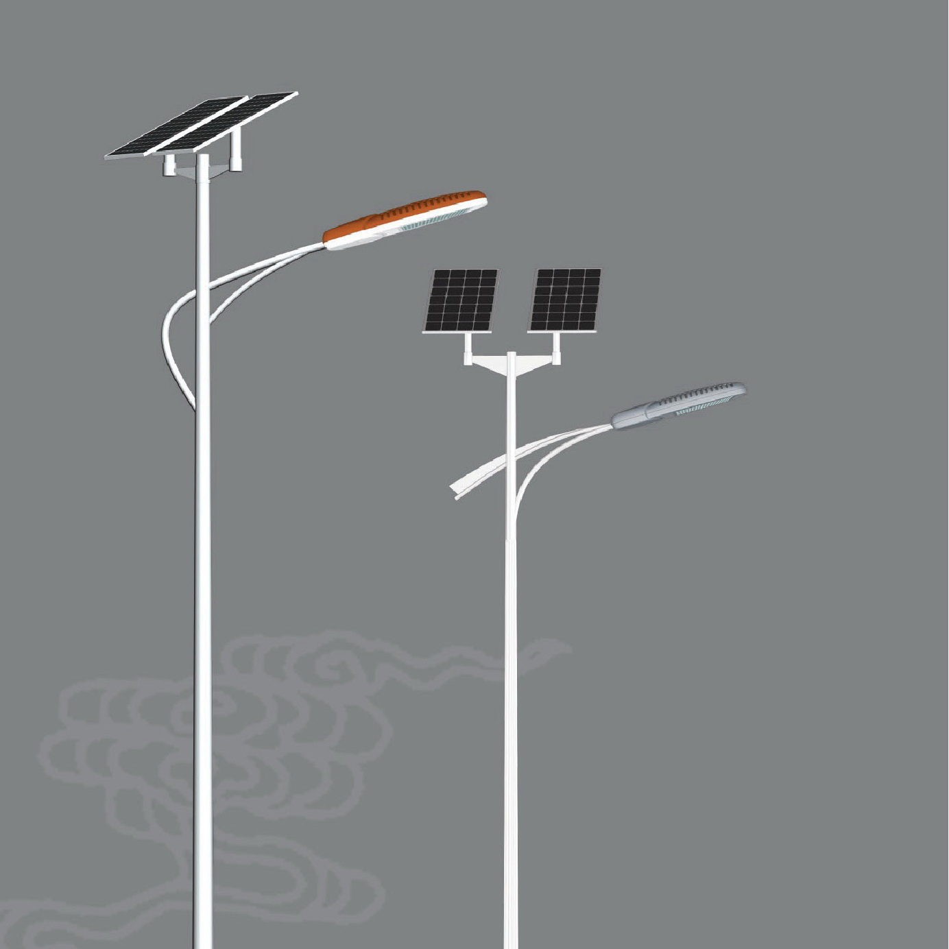china led solar street light 30w 6m pole  stl63635
