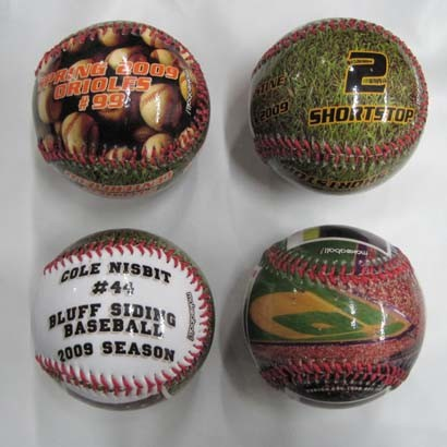 Baseball, PVC Cover, Cork Core, Photo Printing, for Promotion (B06117)