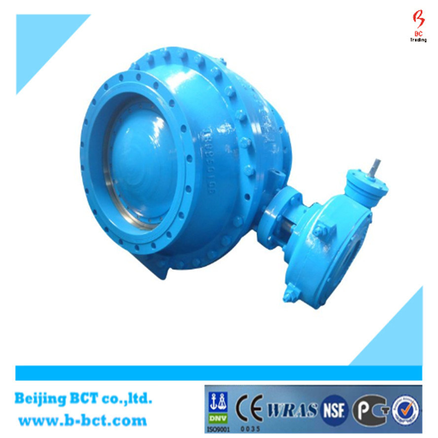 Bi-Directional Metal Seated Flanged Eccentric Ball Valve