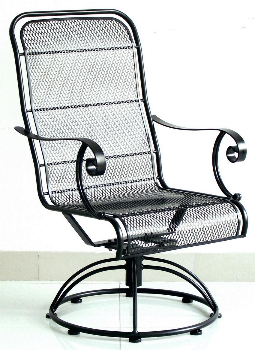 China Patio Furniture High Back Swivel Rocker 21 IM 207
