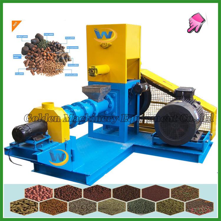Animal Fish Feed Making Pet Food Pellet Mill Extruder Machine