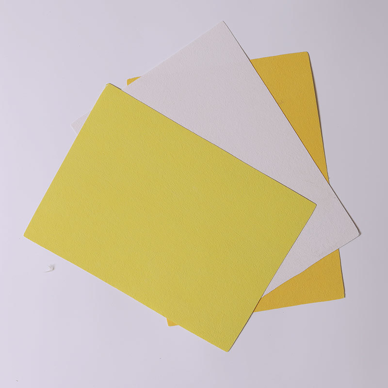 Gypsum Film with Coated Tissue