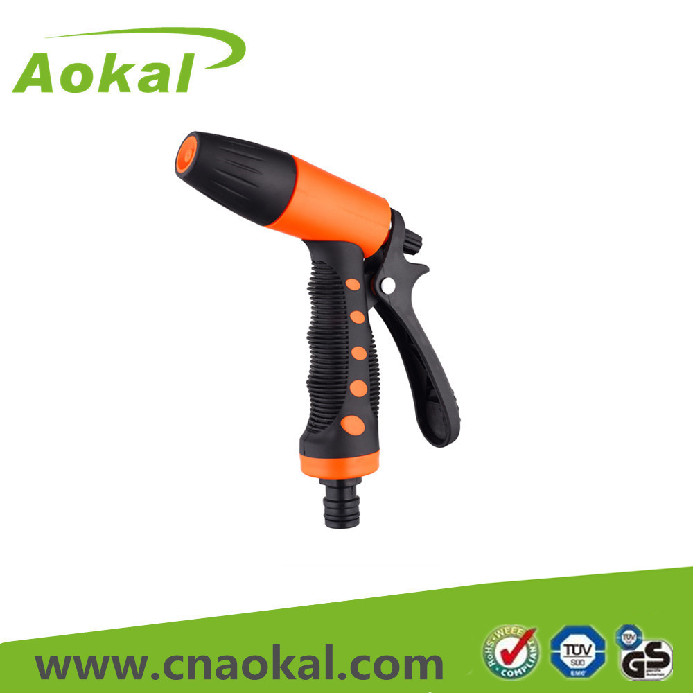 Water Pressure Gun Spray Adjustable Water Spray Nozzle Gun