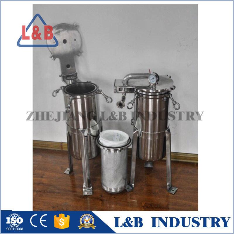 Bag Filter Housing, Sanitary Stainless Steel Liquid Bag Filter