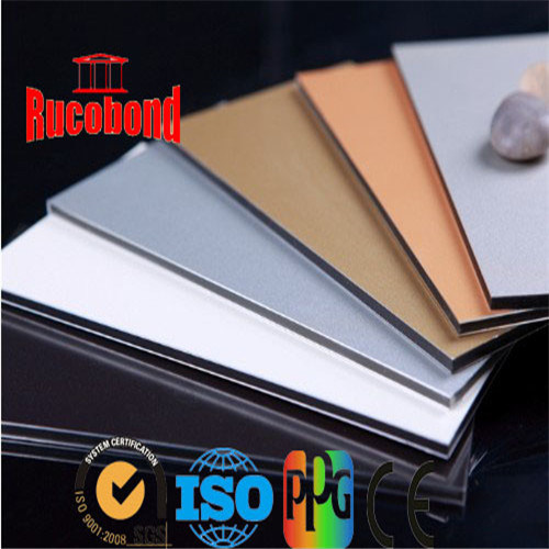 New Construction Materials Aluminum Wall Cladding/Aluminum Composite Panel ACP (RCB140337)