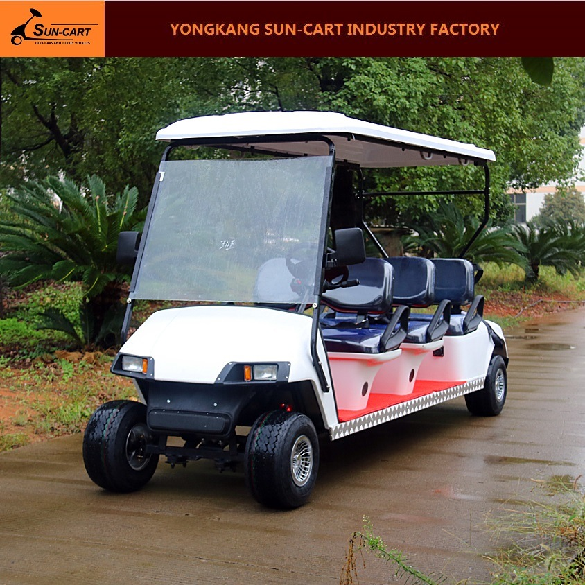 6 Seater Electric Hotel Golf Cart