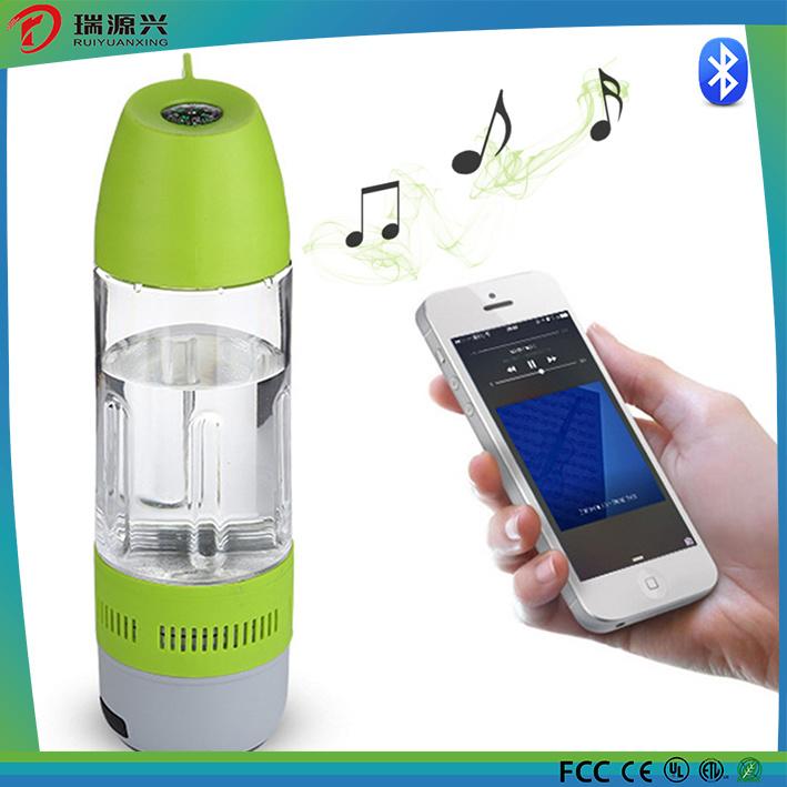 Outdoor Water Bottle Wireless Waterproof Bluetooth Speaker