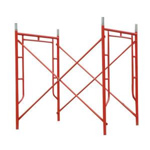 Portable Mobile Working Platform H U Frame System Scaffold