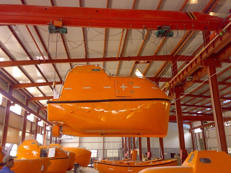 Solas Approved Marine Free Fall Life Boat with Davit
