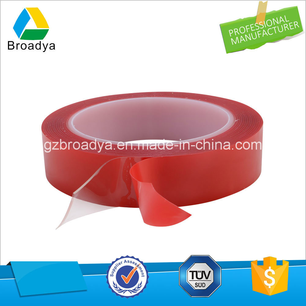 Transparent Double Sided High Bond Acrylic Foam Tapes with Red Film Liner for Automotive
