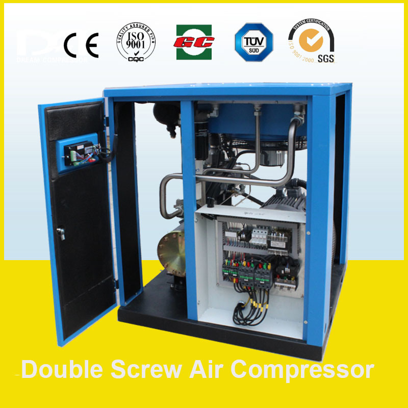 Industrial Direct Driven Electric Rotary Air Screw Air Compressor for Sand Blasting