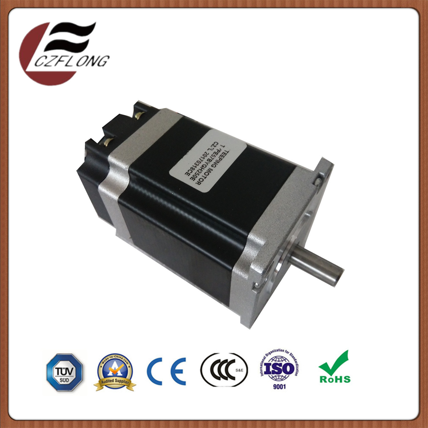 60*60mm NEMA24 Stepper Motor for Automation Equipment with RoHS