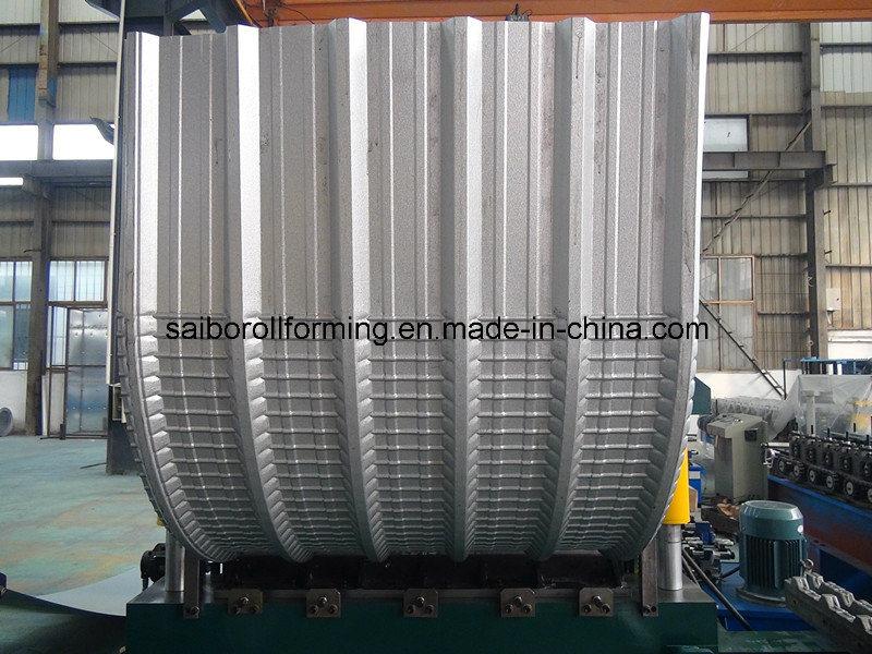 Hydraulic Curving Machine with PLC Control