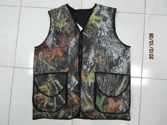 Camouflage Hunting Fishing Outdoor Vest