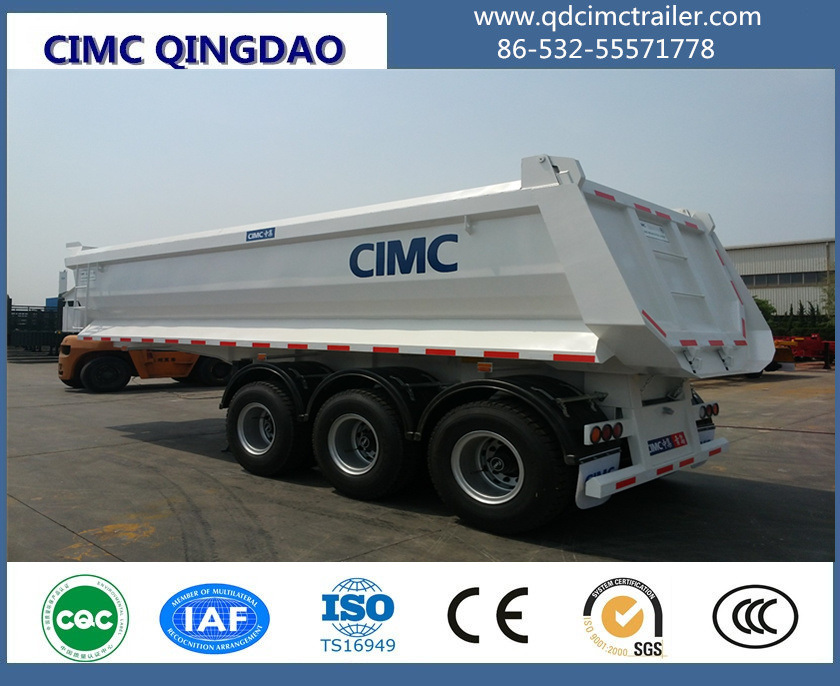 3 Axle Tipper Trailer Semi Trailer