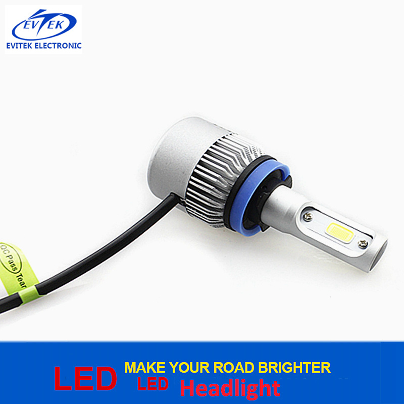 Canbus 36W 4000lm H11 6000k S2 COB/Csp LED Headlight Bulbs