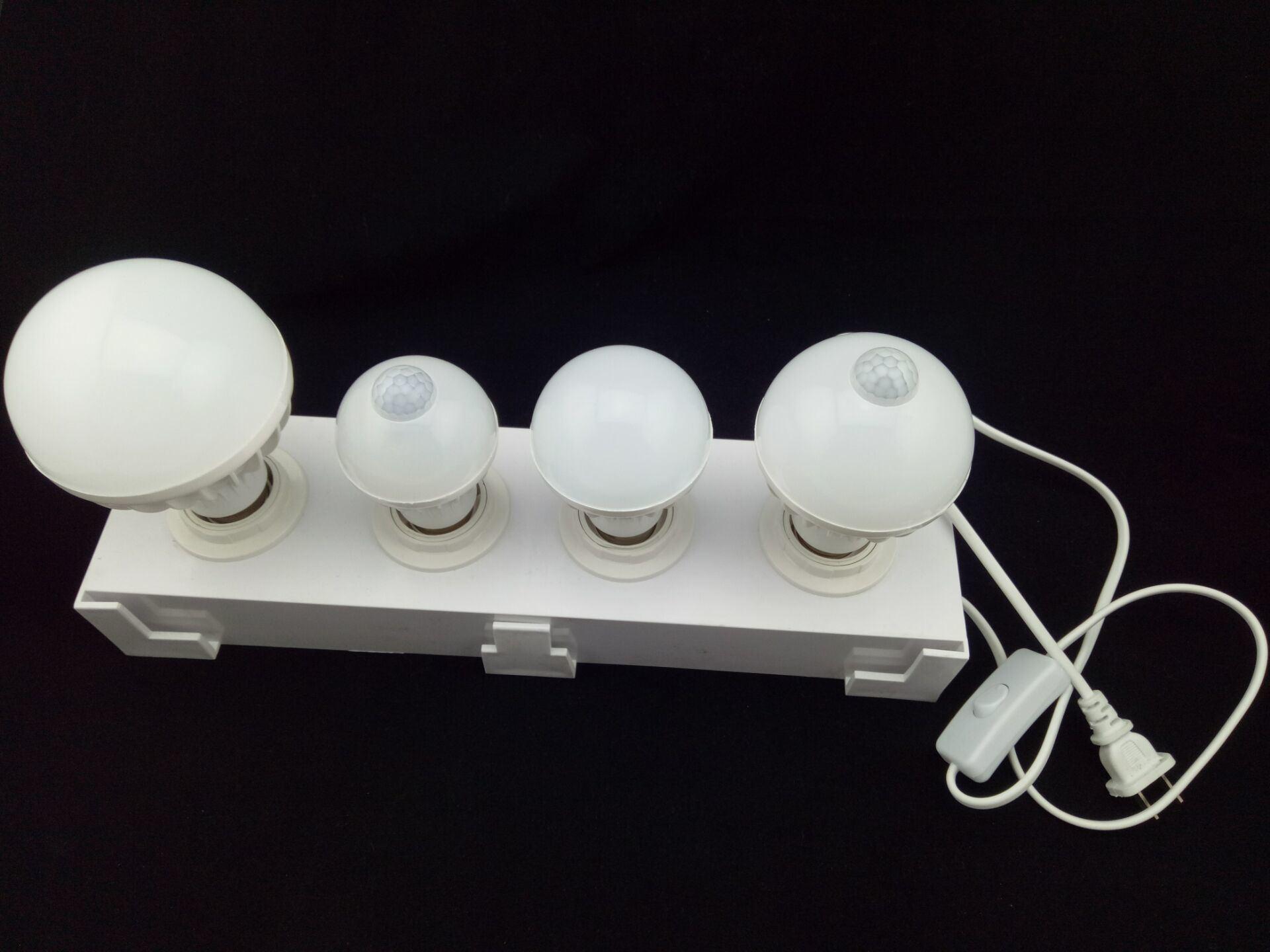 E27 E14 B22 LED Emergency Lighting, Sound Control Bulb