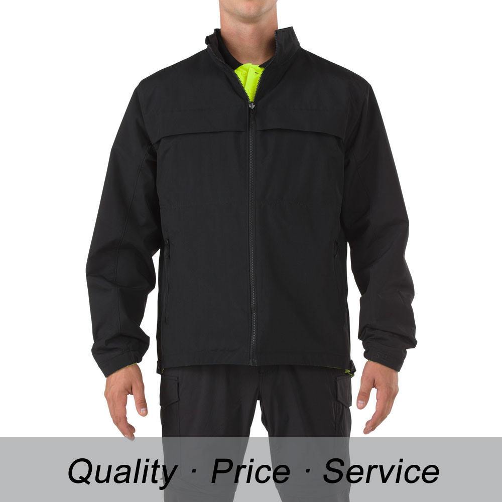 Black Cotton Men Winter Jacket Uniform