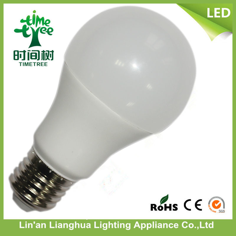 E27 SMD Light Aluminum with Plastic 12W LED Bulb