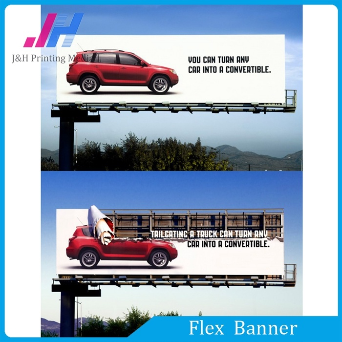 Cold Laminated PVC Frontlit Flex Banner (500*500d 9*9)