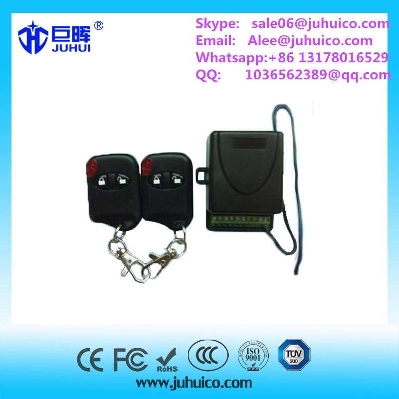2 Relays Receiver Gate Opener 433.92MHz Support Rolling Code and Fixed Code Transmitter