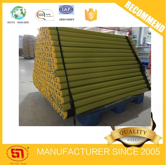 Good-Quality PVC Electrical Insulation Tape Green Yellow Jumbo Roll