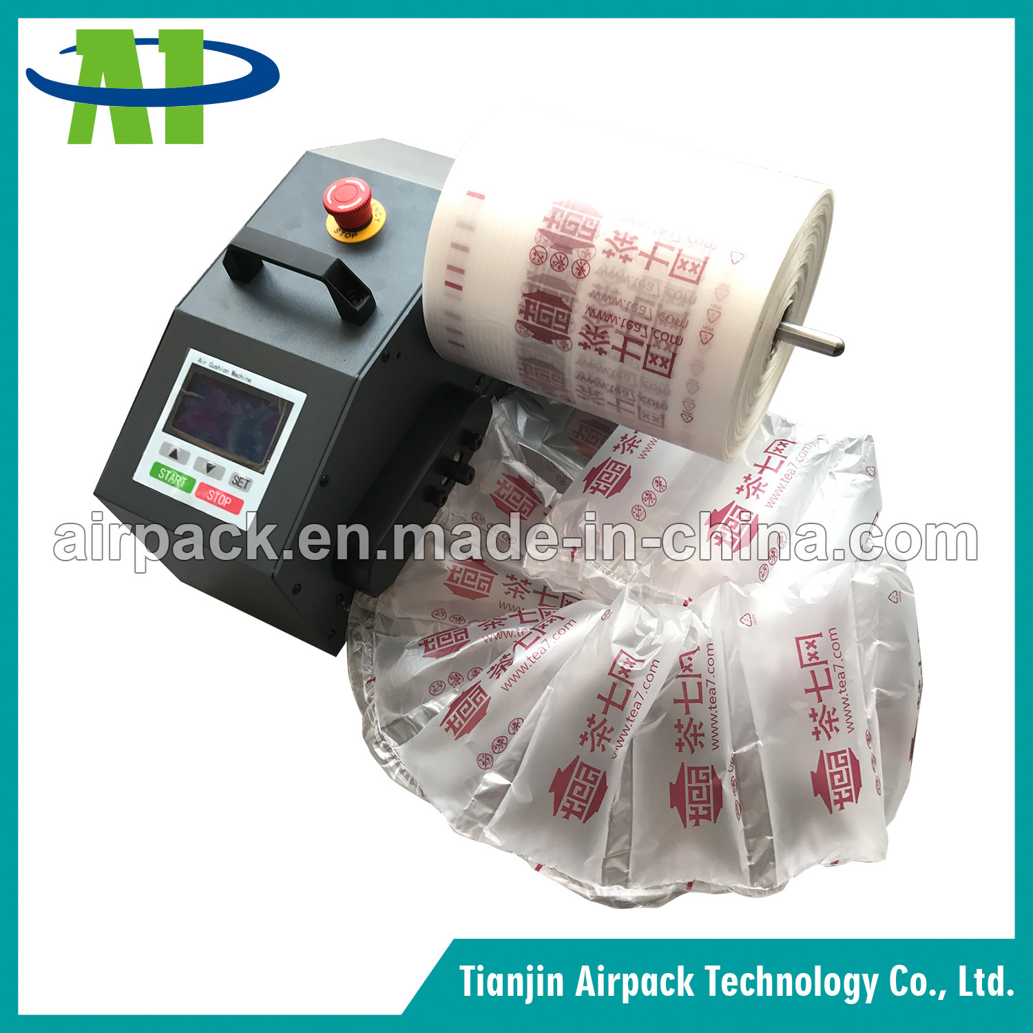 Air Cushion Packaging Machine/ Air Bubble Bag Making Machine/ Air Pillow Machine