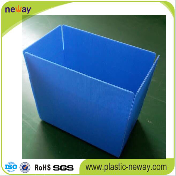 Folding Corrugated Plastic Container