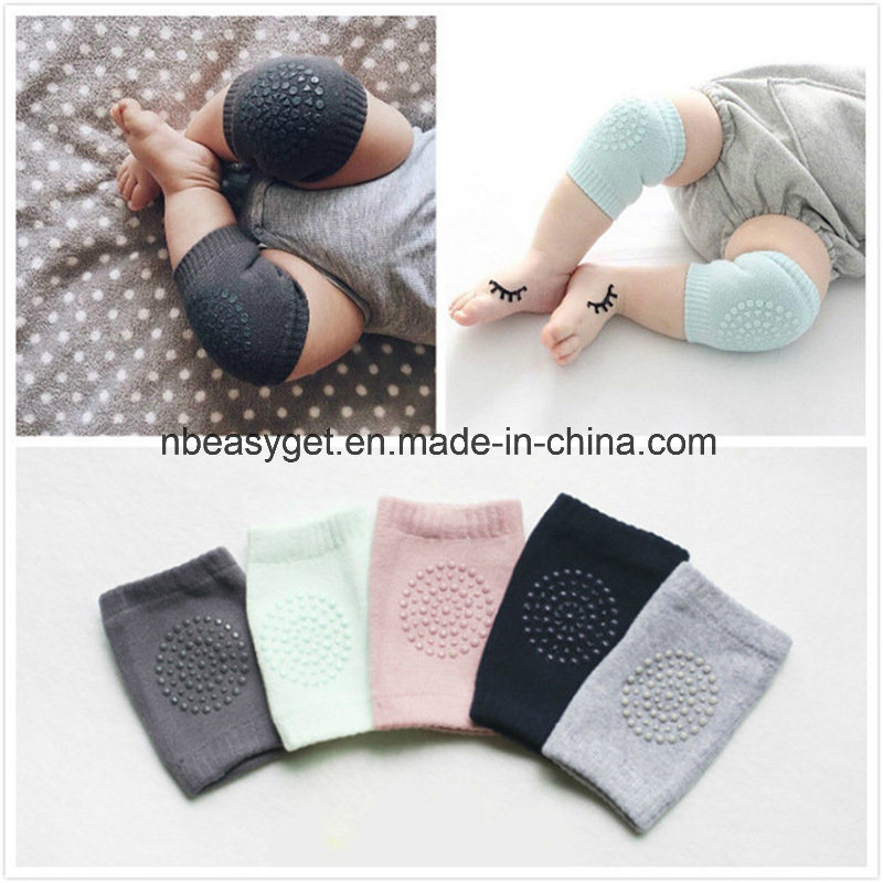 Functional Baby Crawling Anti-Slip Knee Compression Sleeve Unisex Kneecap Coverage Multiple Colors Babyknee Pads Breathable Leg Warmer