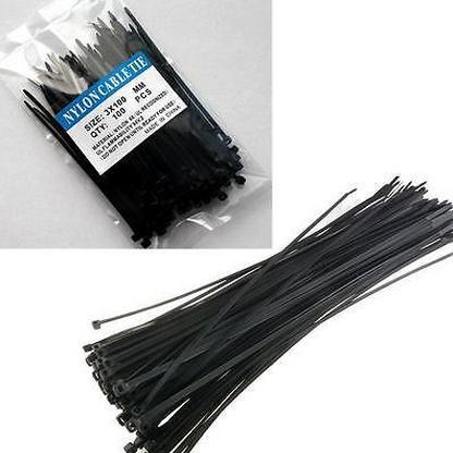 UV Resistant Self Locking Nylon Soft Cable Tie/Tie Wrap/Zip Tie/