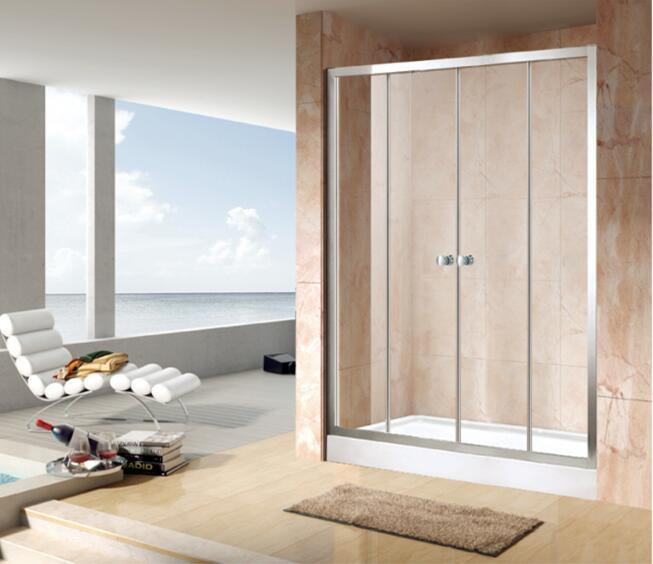 Shower Enclosure Economy 4/5mm Double Sliding Door Bathroom (EC-DSL14)