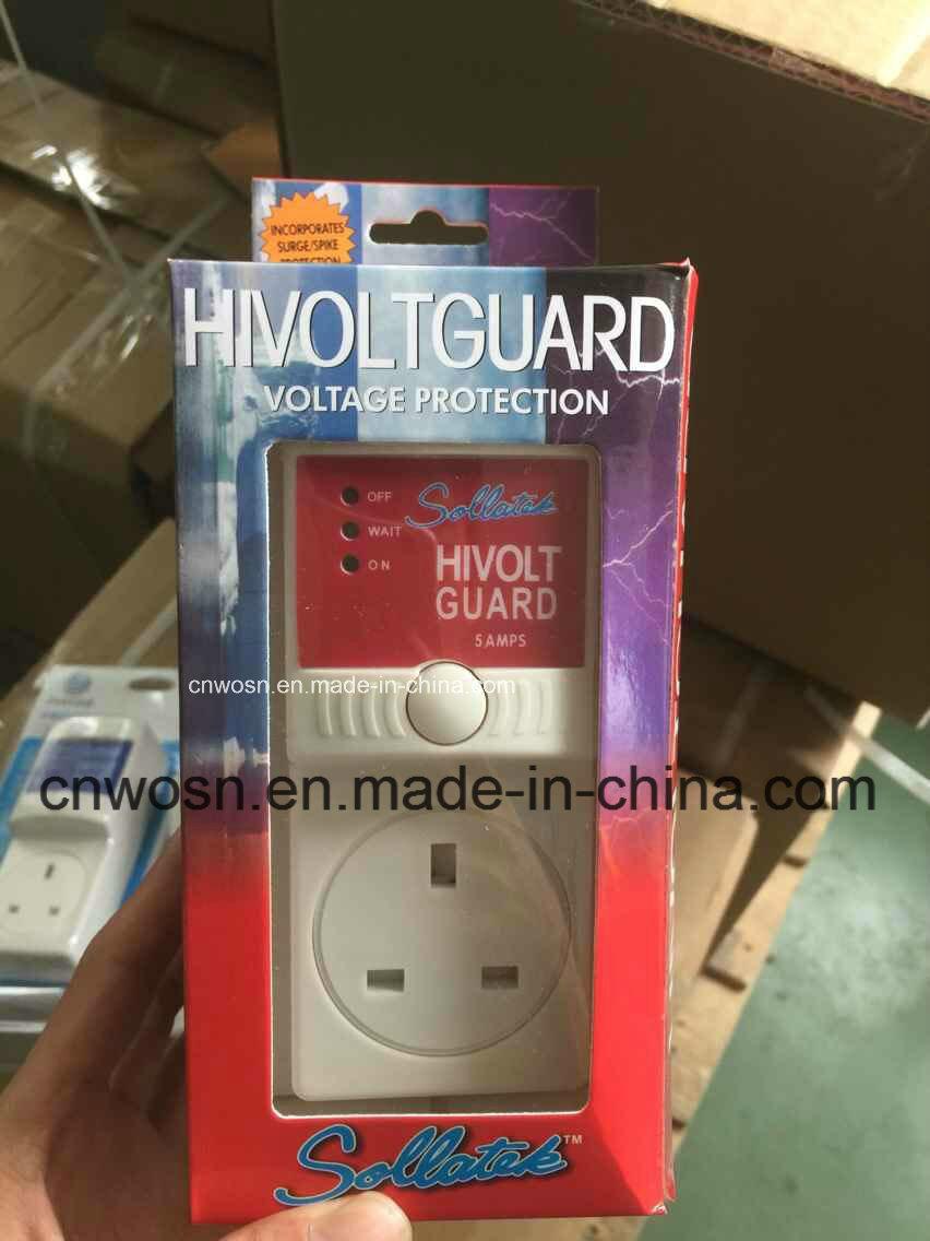 Customize Optional Socket Hivolt Guard AVS 5A Voltage Protector