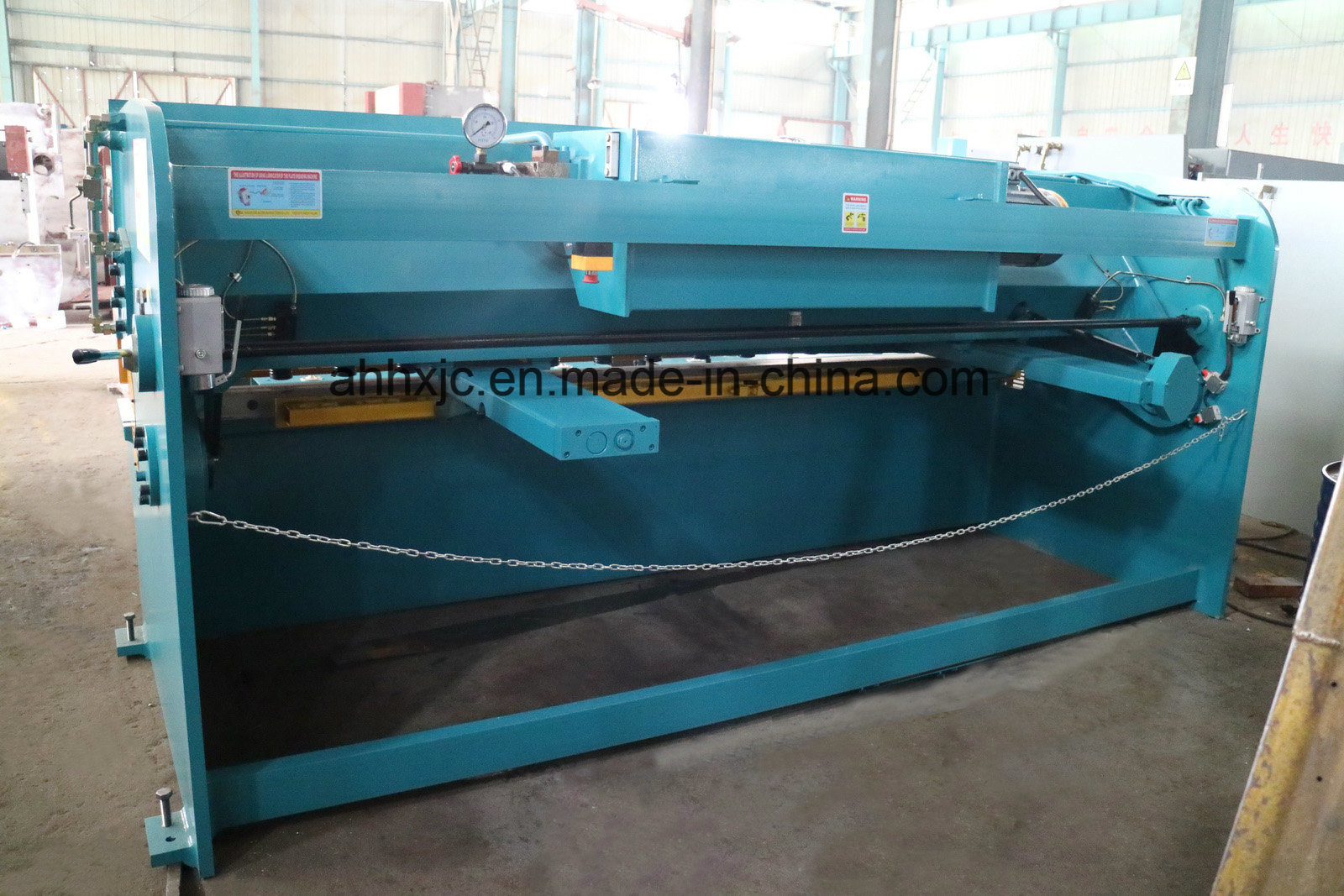 QC12k Nc Hydraulic Shearing Machine for Metal Making