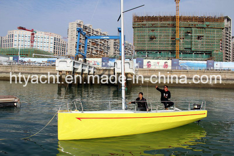 21′ Fiberglass Dibley Sailing Boat Hangtong Factory-Direct