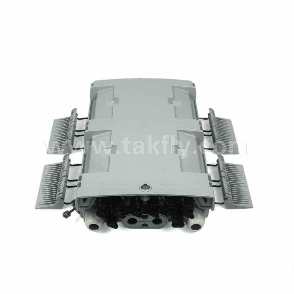 Waterproof 8 Cores 5.0mm Drop Cable Fiber Optic Splice Box/Terminal Box