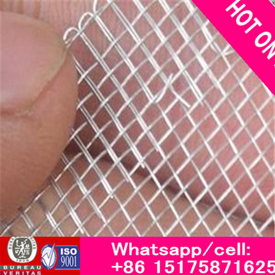 18*18 Aluminum Wire Mesh with Epoxy Coating (black, gray)