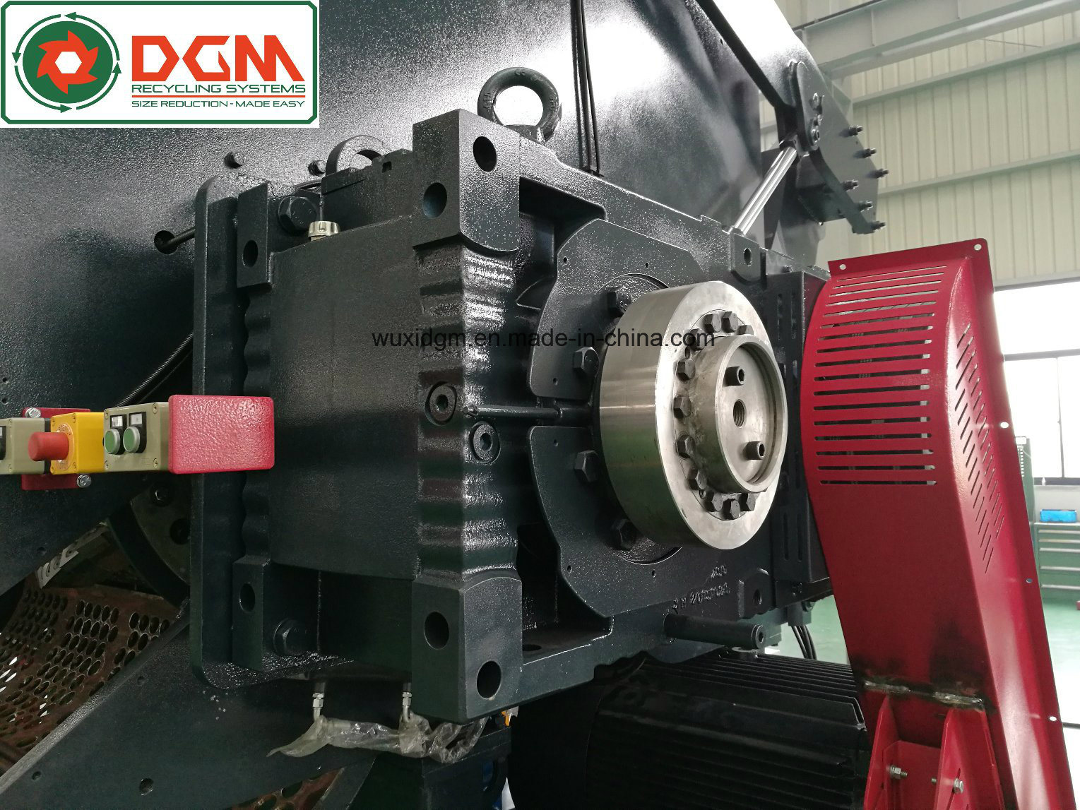 Dgx2000t Heavy Duty Single Shaft Shredder for Tires