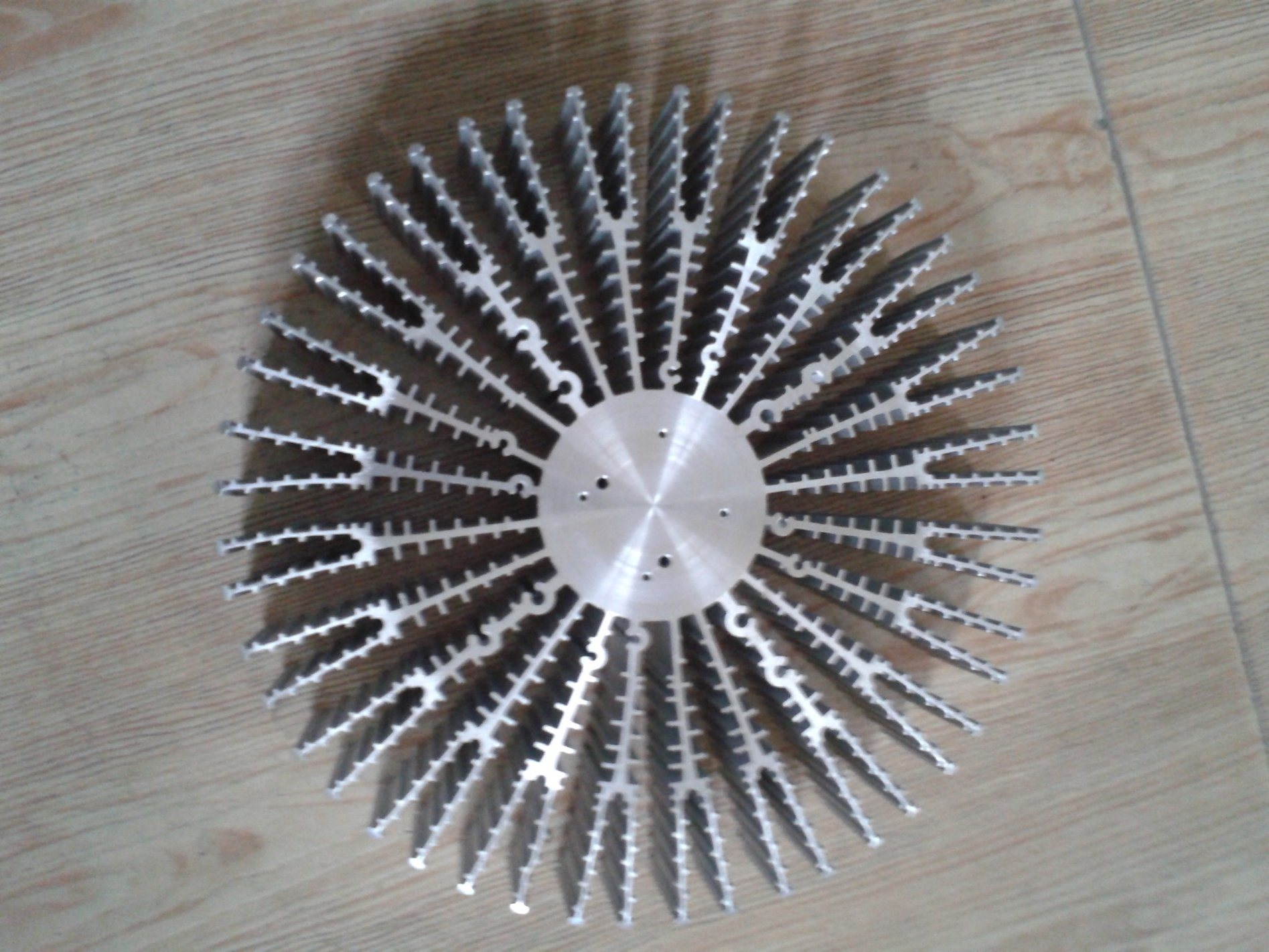 Aluminium Heat Sink for High-Volume Lamp