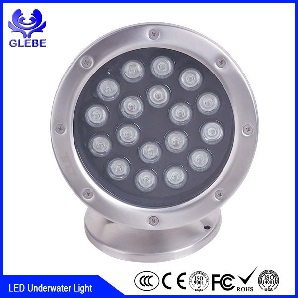 IP68 Flexible LED Underwater Light for Building Contour Decoration