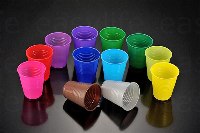 7oz (200ml) C077380 Disposable PP/PS Plastic Colorful Cup