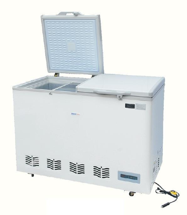 DC/AC Compressor 138L Car Refrigerator