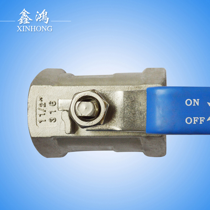 1PC 304 Stainless Steel Ball Valve Dn15