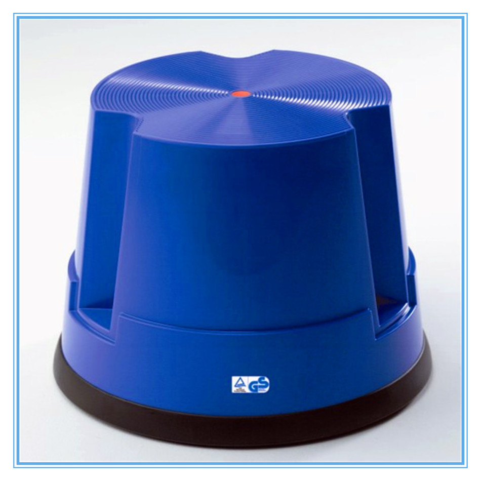 1-Step Plastic Ergonomic Step Ladder Step Stool for Office