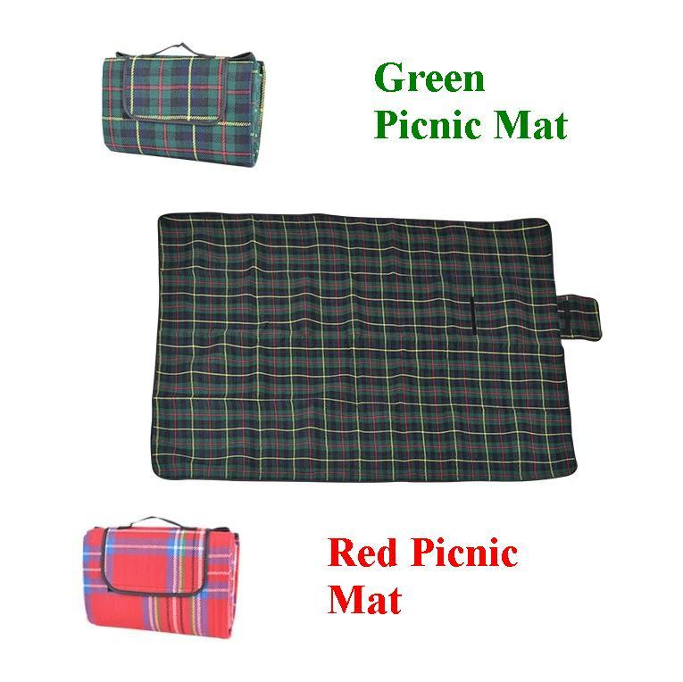 Durable Light Portable Hiking Picnic Camping Blanket Handy Beach Mat to Keep in Car