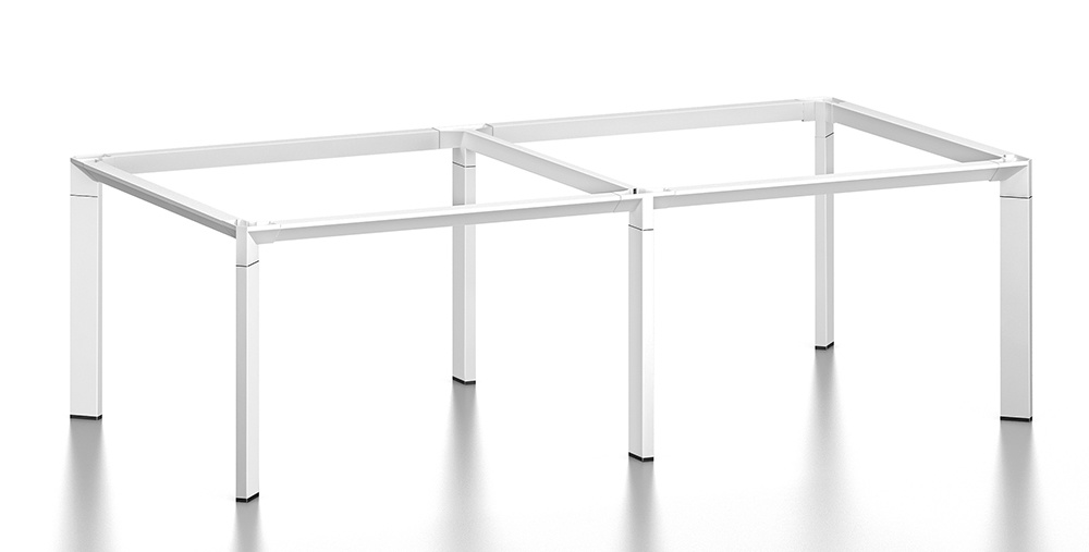White Customized Metal Steel Office Conference Desk Frame with Ht93-3