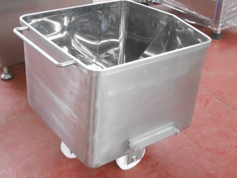 Vegetable Skip / Charging Car SUS 304 Stainless Steel