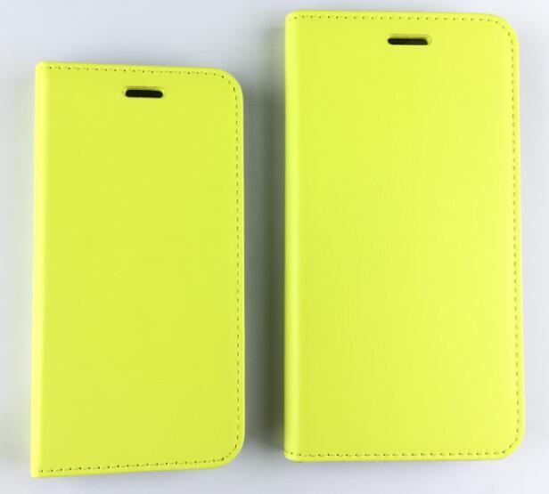 2017 Pma Flip with Credit ID Card Slot Anti-Radiation PU Mobile Phone Shell