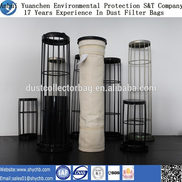 Organic Silicon Dust Filter Cage