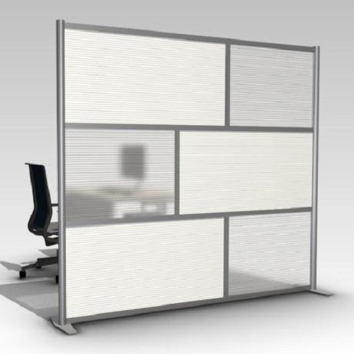 Modern Room Divider Mobile Office Partition Glass Wall (SZ-WS649)