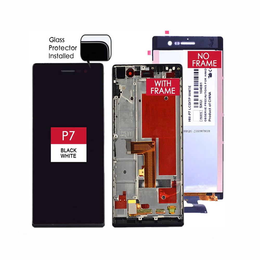 Phone Touch Screen for Huawei P7 Screen with Digitizer
